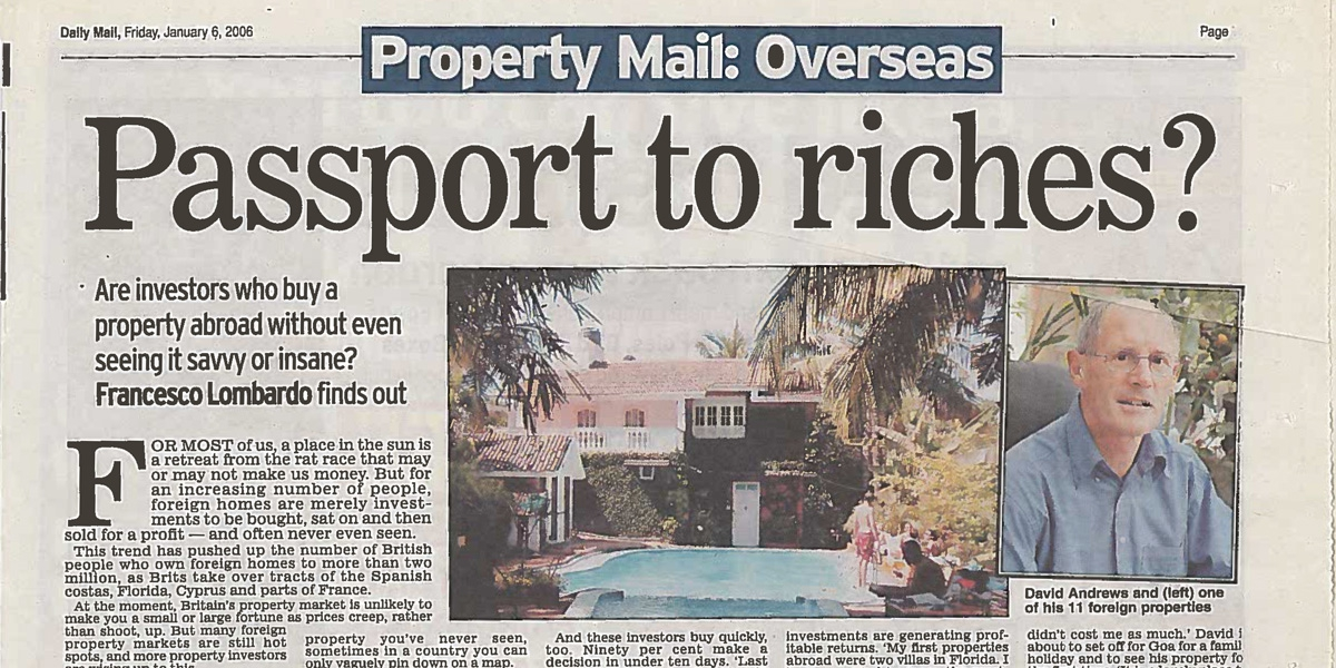 Property Mail: Passport to Riches