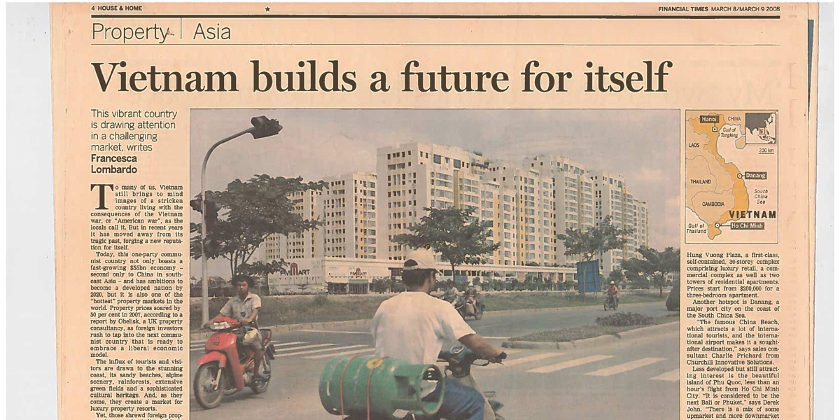 Vietnam build a future for itself