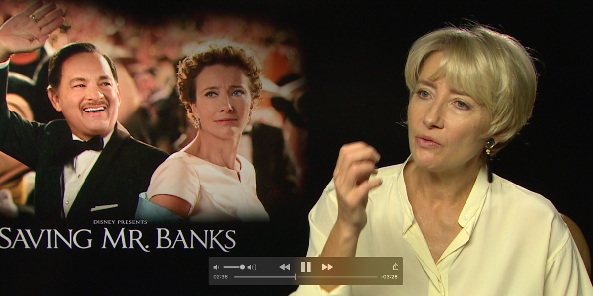 Emma Thomson - Saving Mr Banks